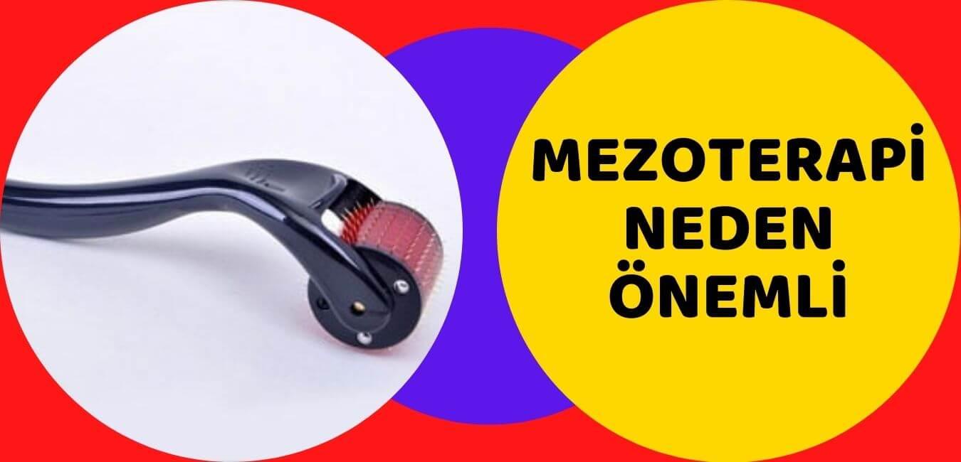 saç bakımında mezoterapi uygulaması