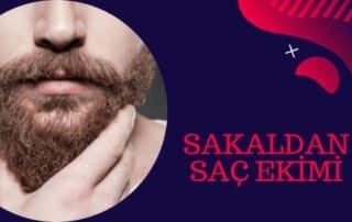 sakal kıllarından saç ekim
